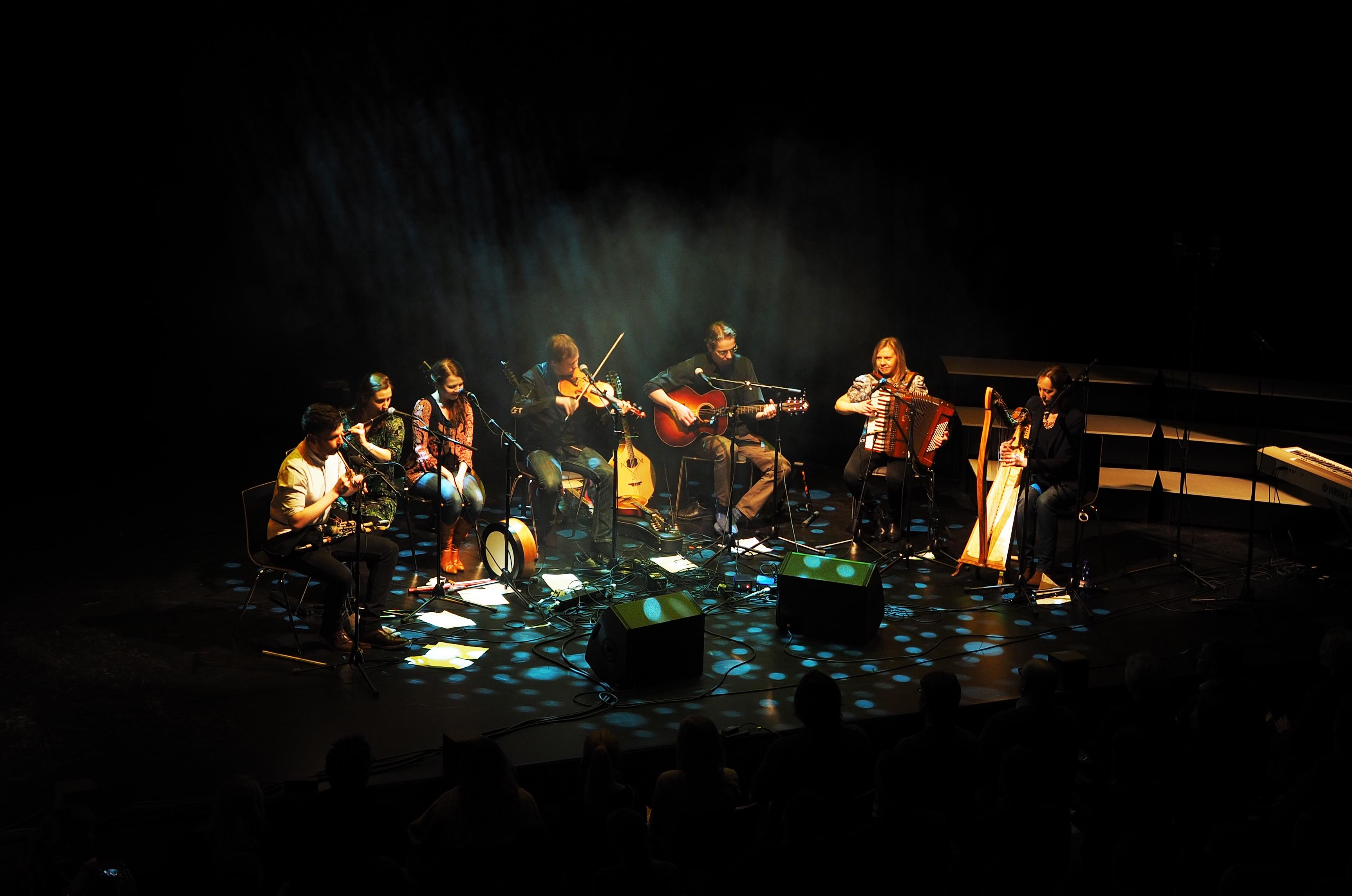 Kangasala Irish Festival Kangasala-talossa.