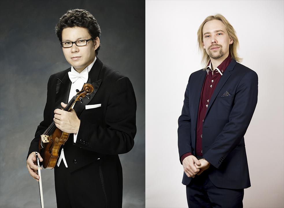Suomalaisen viulumusiikin klassikoita -konsertti Kangasala-talossa.