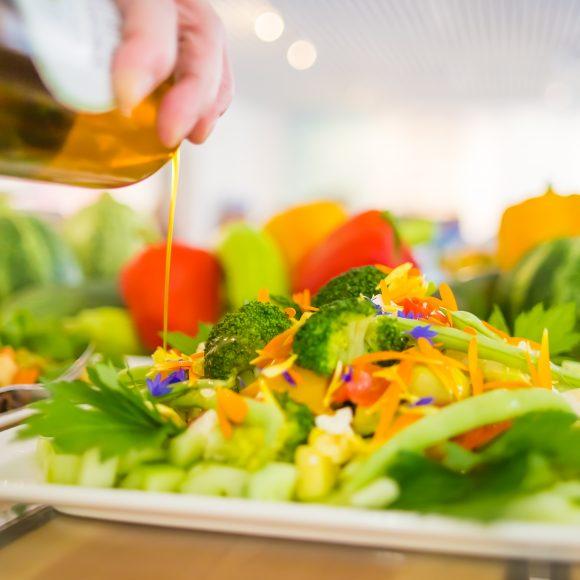 Armas Galleria&Keittiön herkullinen salaatti.