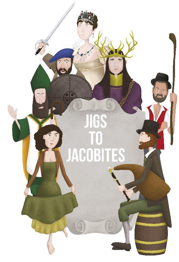 Kangasala Irish Festival: Jigs to Jacobites – tarinat tanssien takaa Kangasala-talossa.