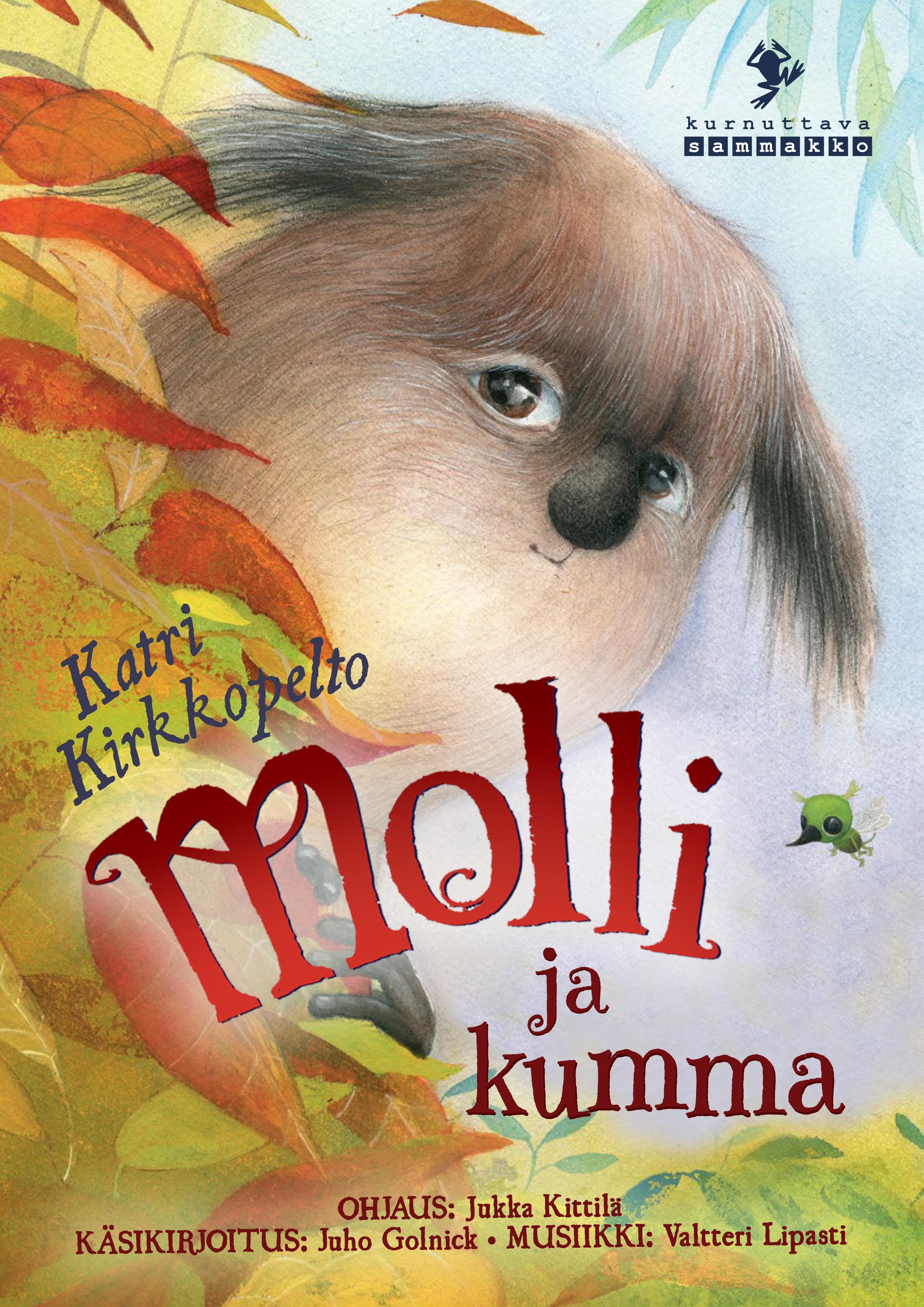 Molli ja Kumma -lastenteatteriesitys Kangasala-talossa