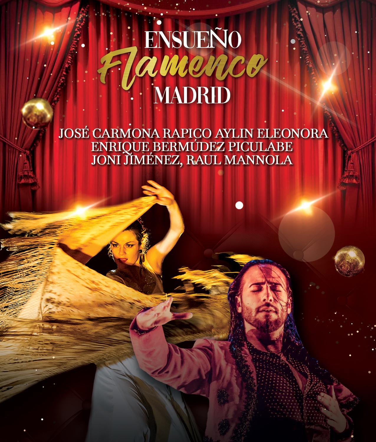 Ensueño Flamenco -esitys Kangasala-talossa