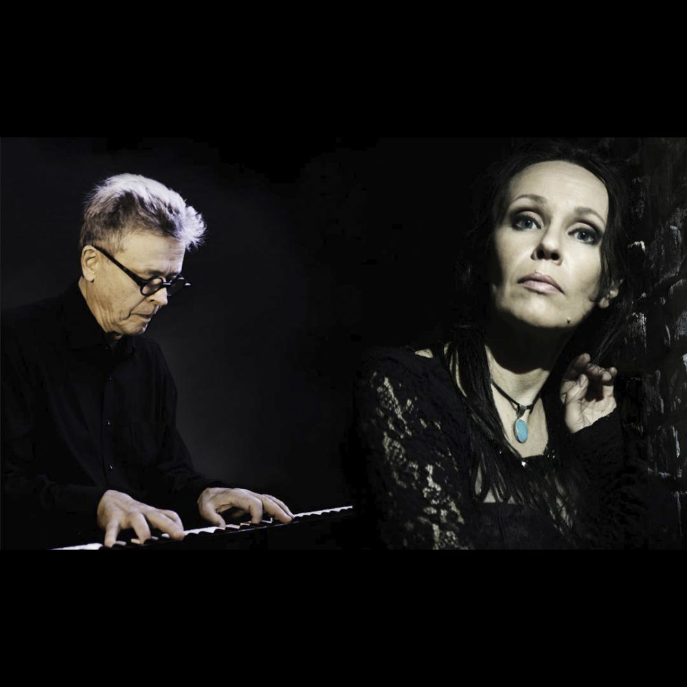 Fadolaulaja Kirsi Poutanen ja pianisti-säveltäjä Esa Helasvuo