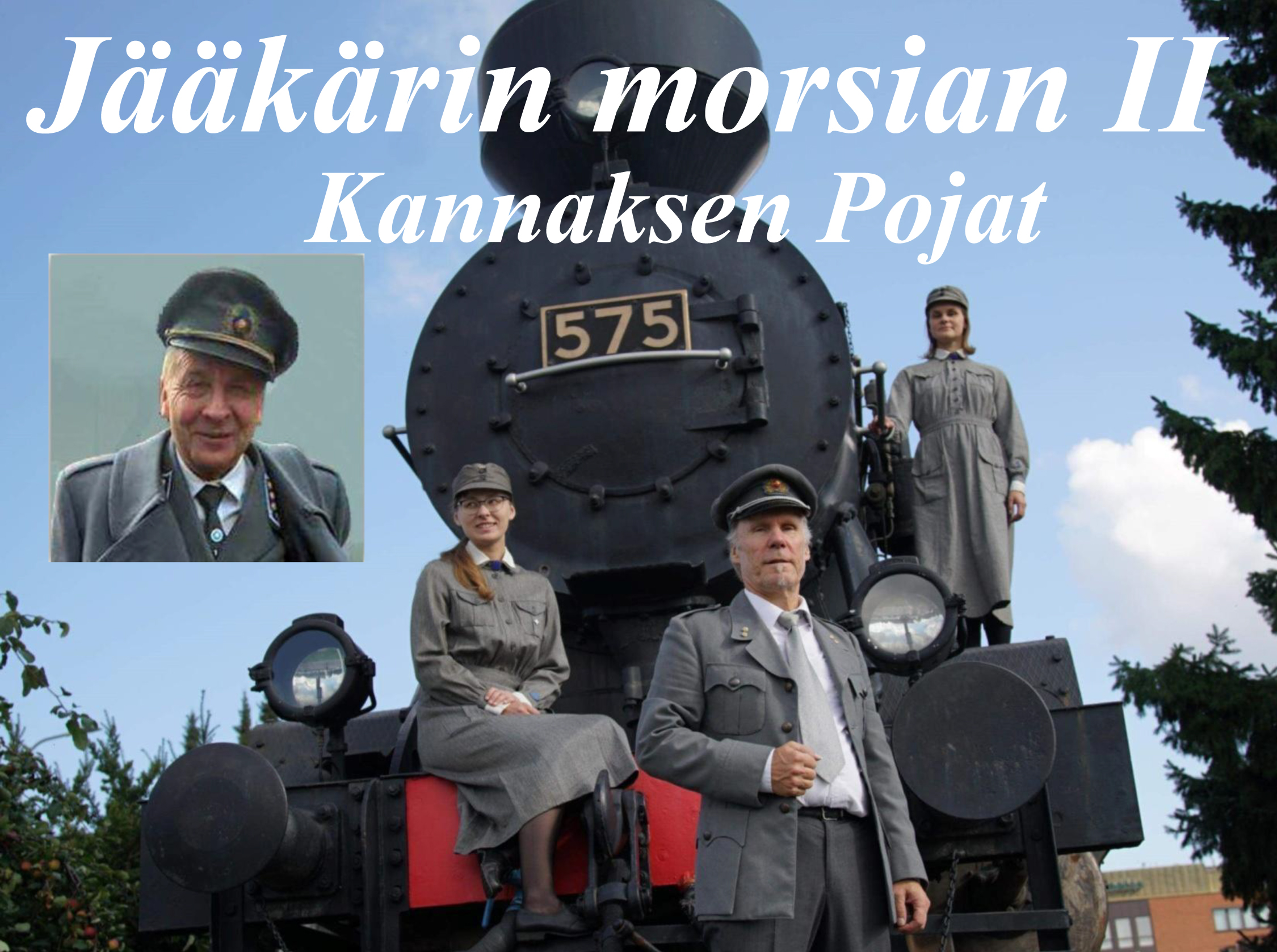 Kannaksen poikien muotoilema Sam Sihvon Jääkärin morsian Kangasala-talossa.
