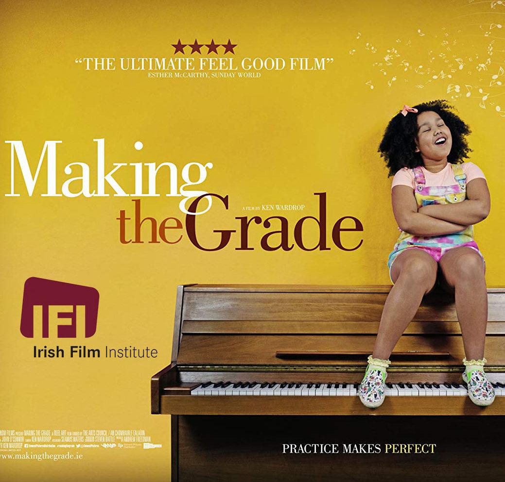 Making the Grade -elokuva on osa Kangasala Irish Festivalia Kangasala-talossa.