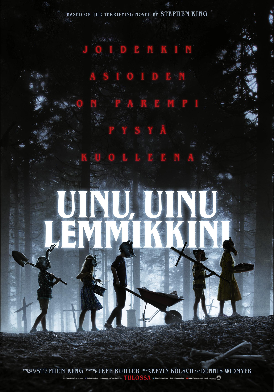 Uinu, uinu lemmikkini -elokuva Kangasala-talon K-Kinossa.