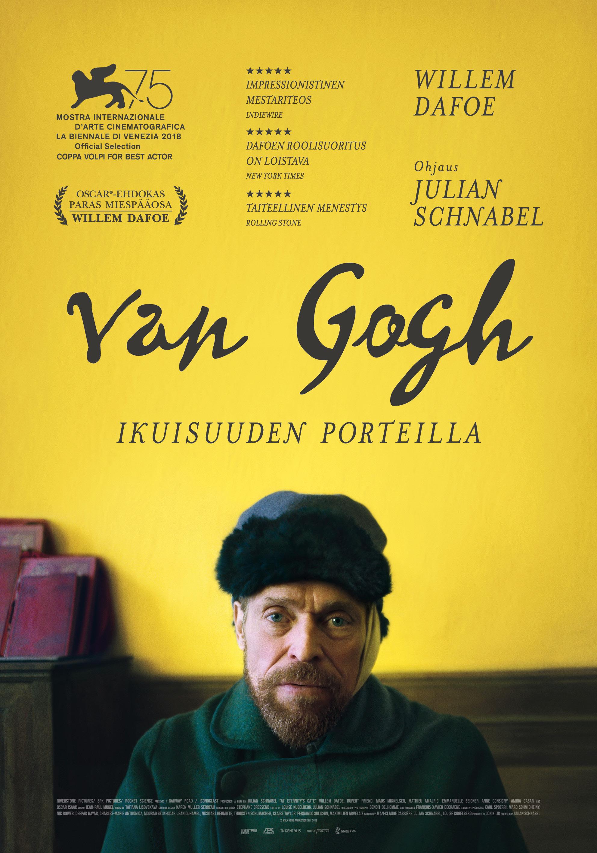 Elokuva Van Gogh - Ikuisuuden porteilla K-Kinossa Kangasala-talossa.