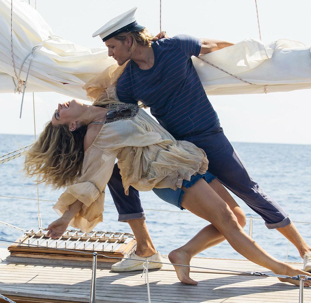 Mamma Mia, Here We Go Again! elokuva Kangasala-talon K-Kinossa.