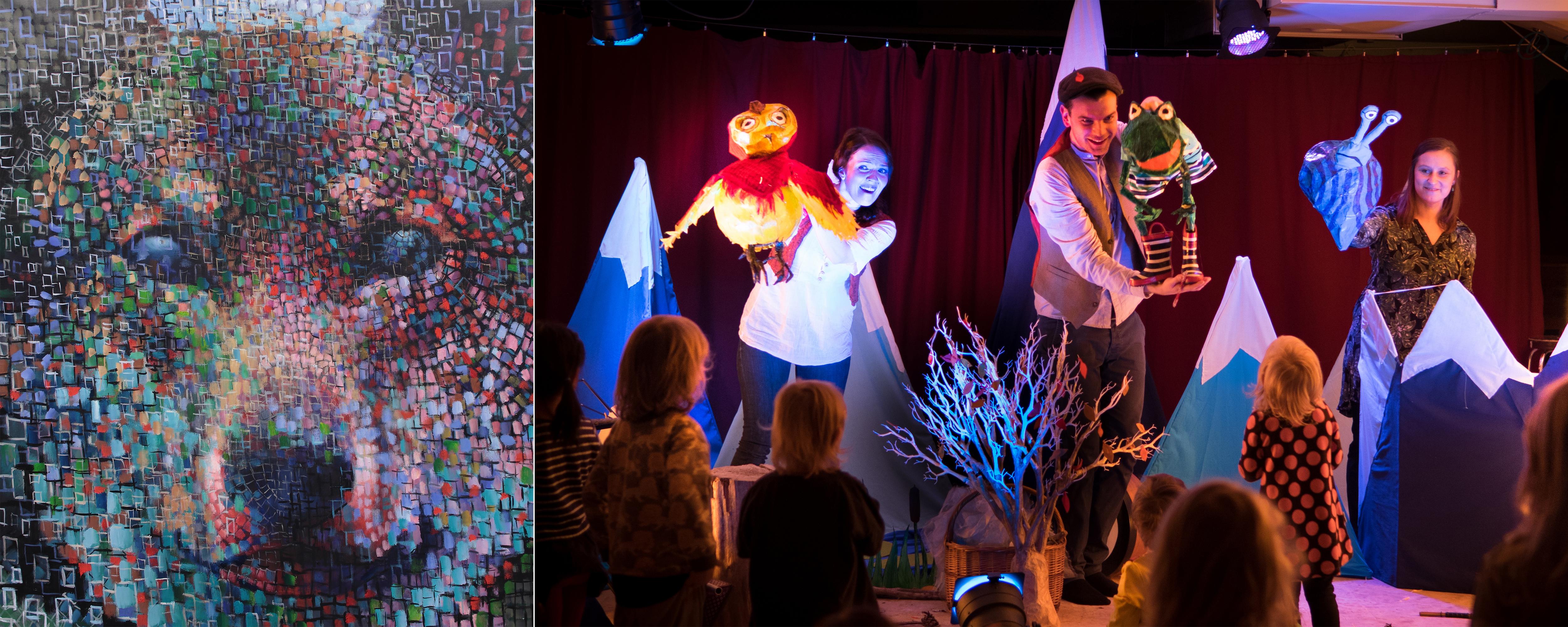 Lasten lauantai järjestetään Kangasala-talossa ja Kimmo Pyykkö -taidemuseossa huhtikuussa 2019.