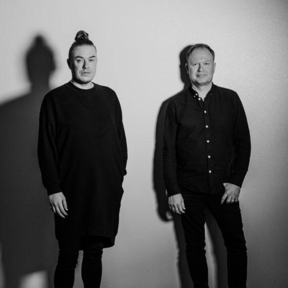 Jesse Kaikuranta ja Peter Engberg esiintyvät Kangasala-talossa syksyllä 2019.