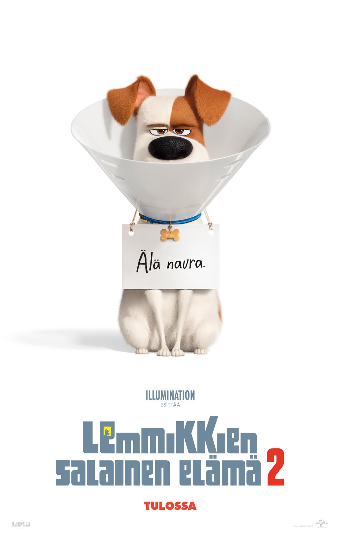 Lemmikkien salainen elämä 2 -elokuva K-Kinossa Kangasala-talossa.