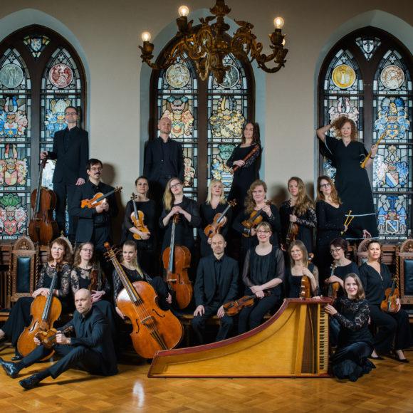 Suomalainen Barokkiorkesteri (FiBO) esiintyy Kangasala-talossa syksyllä 2019.