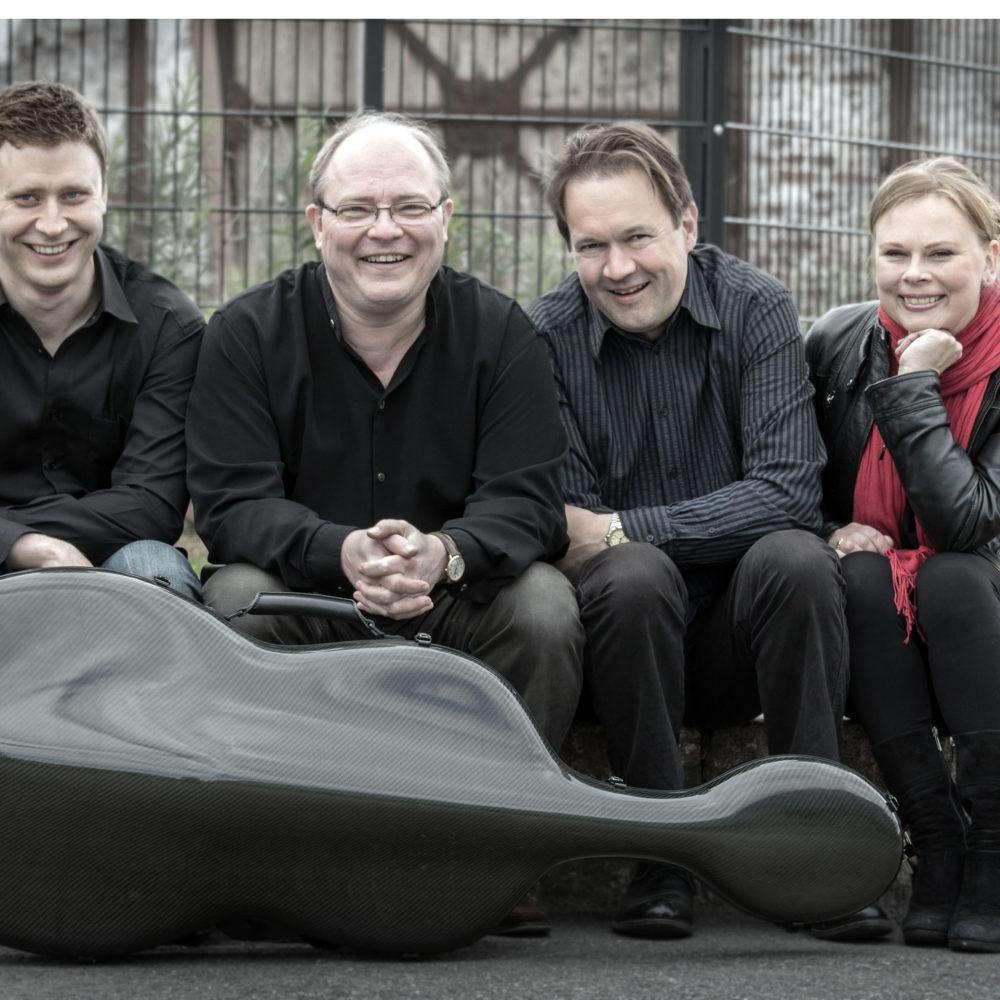 Uusi Helsinki -kvartetti esiintyy Kangasala-talossa syksyllä 2019.