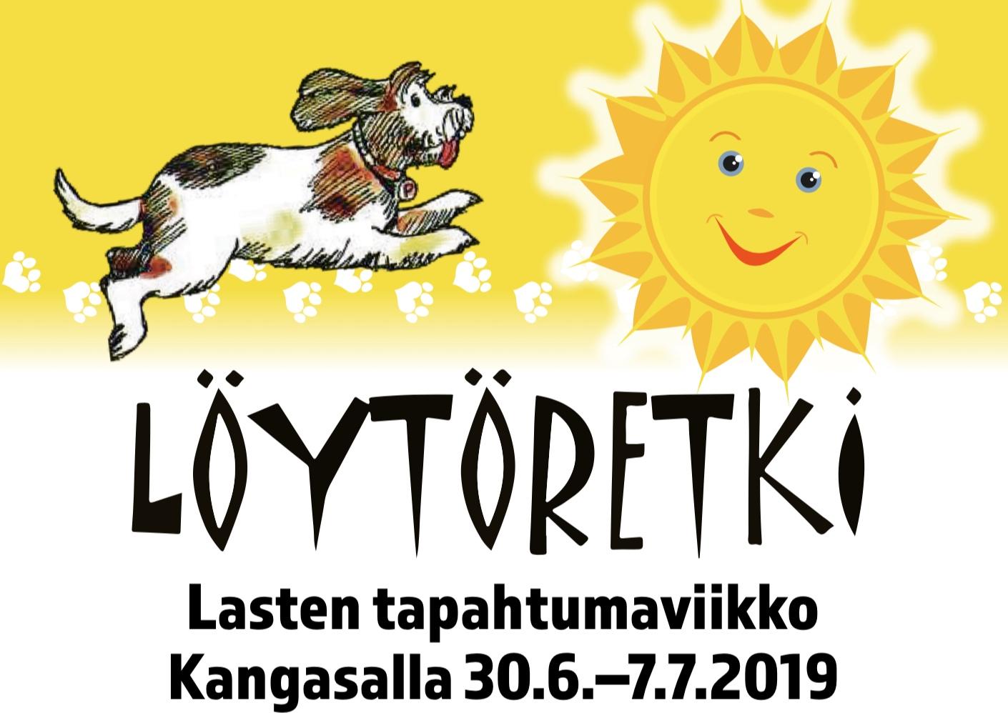 Lasten Löytöretki -tapahtumaviikon ohjelmaa myös Kangasala-talossa.