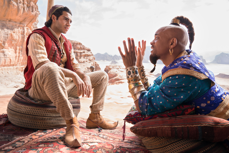 Aladdin-elokuva K-Kinossa