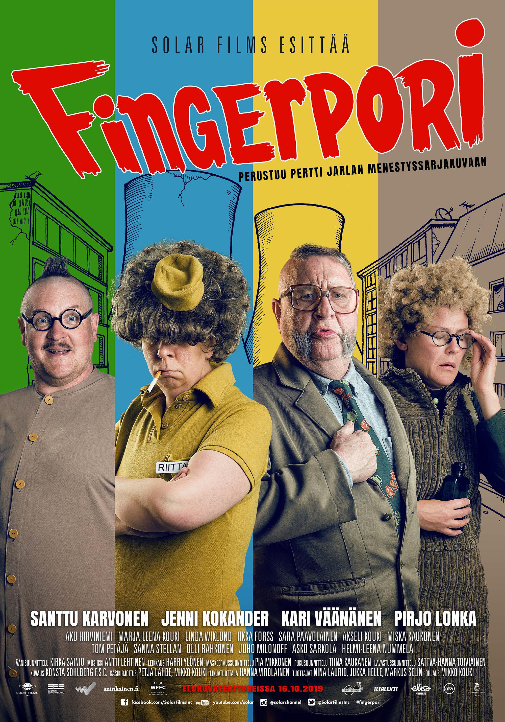 Fingerpori -elokuva Kangasala-talon K-Kinossa lokakuussa 2019.