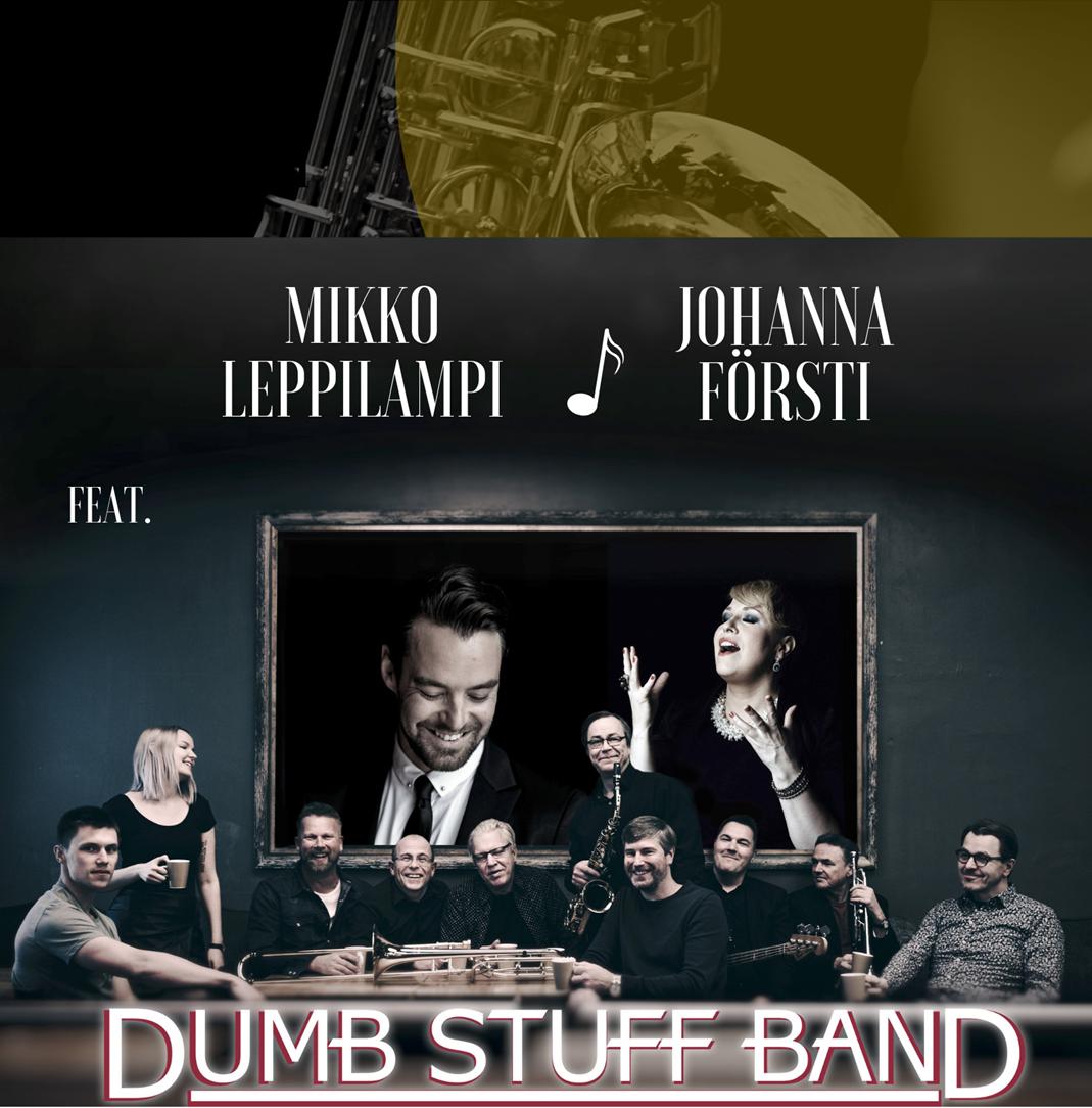 Jäitä sulatellessa -konsertti Kangasala-talossa maaliskuussa 2020.