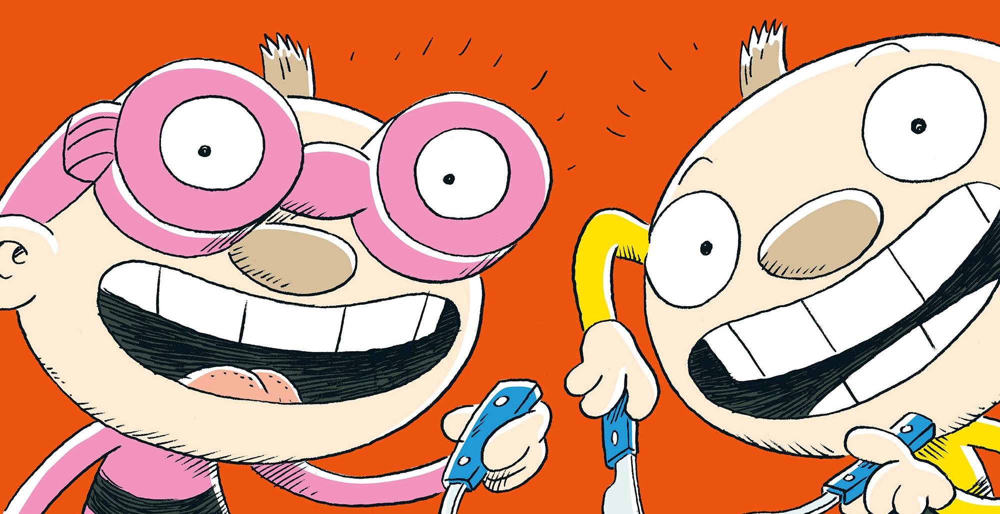 Tatu ja Patu syömään! -lastenteatteriesitys vierailee Kangasala-talossa