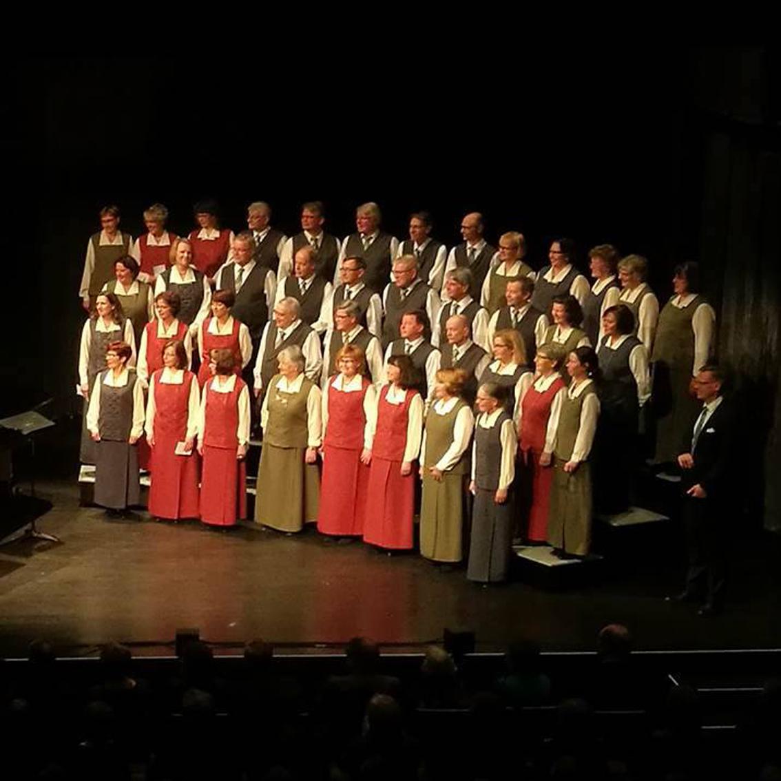 Musiikkia isänmaalle konsertit Kangasala-talossa 29. ja 30.11.2019.