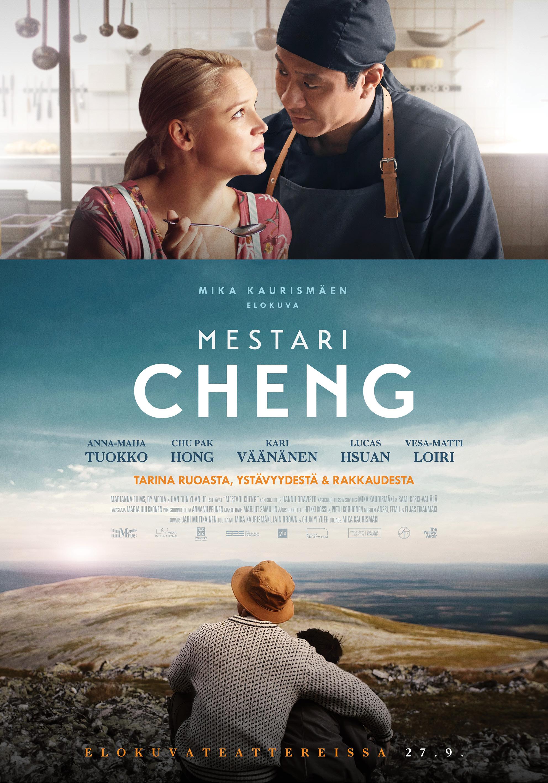 Kiinalaisesta mestarikokki Chengistä kertova elokuva Mestari Cheng Kangasala-talon K-Kinossa syksyllä 2019.