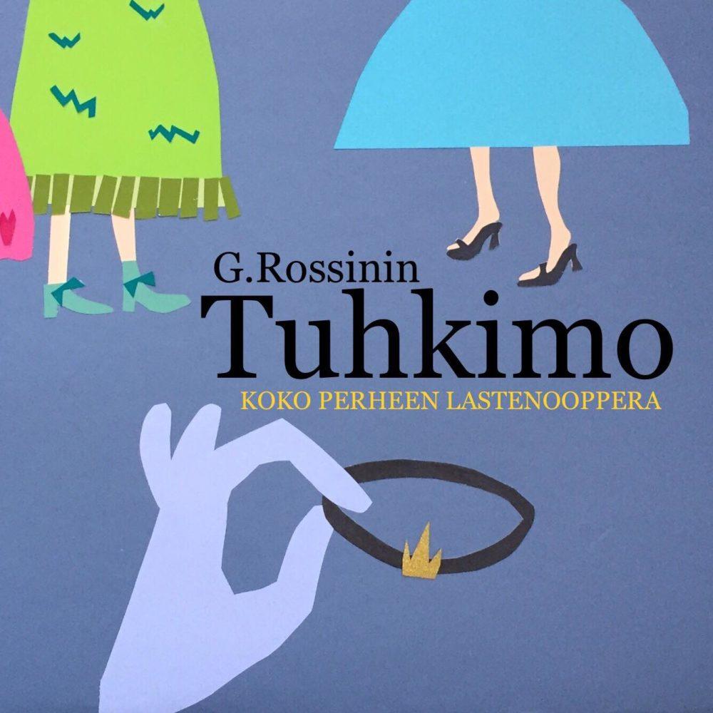 G. Rossinin Tuhkimo nähdään lastenoopperana. Kuva: Hanna Hakkarainen