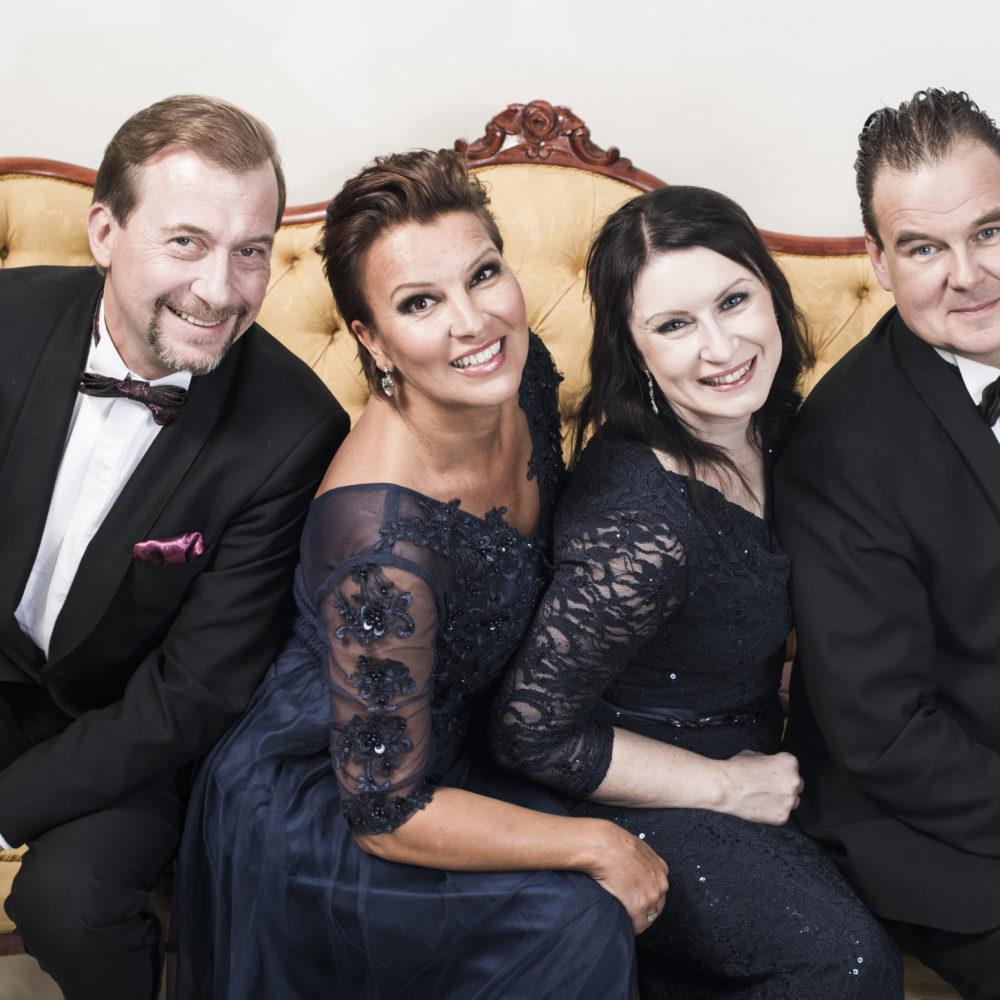 Vie meidät rakkauteen – tangoa ja tunnelmaa jo 30 vuotta -konsertti Kangasala-talossa helmikuussa 2020.