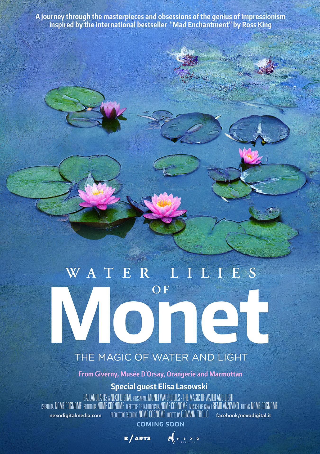 Taidedokumentti Claude Monetista Kangasala-talon K-Kinossa tammikuussa 2020.
