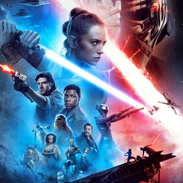 Skywalker-saagan jännittävä huipennus Star Wars: The Rise of Skywalker Kangasala-talon K-Kinossa joulukuussa 2019.