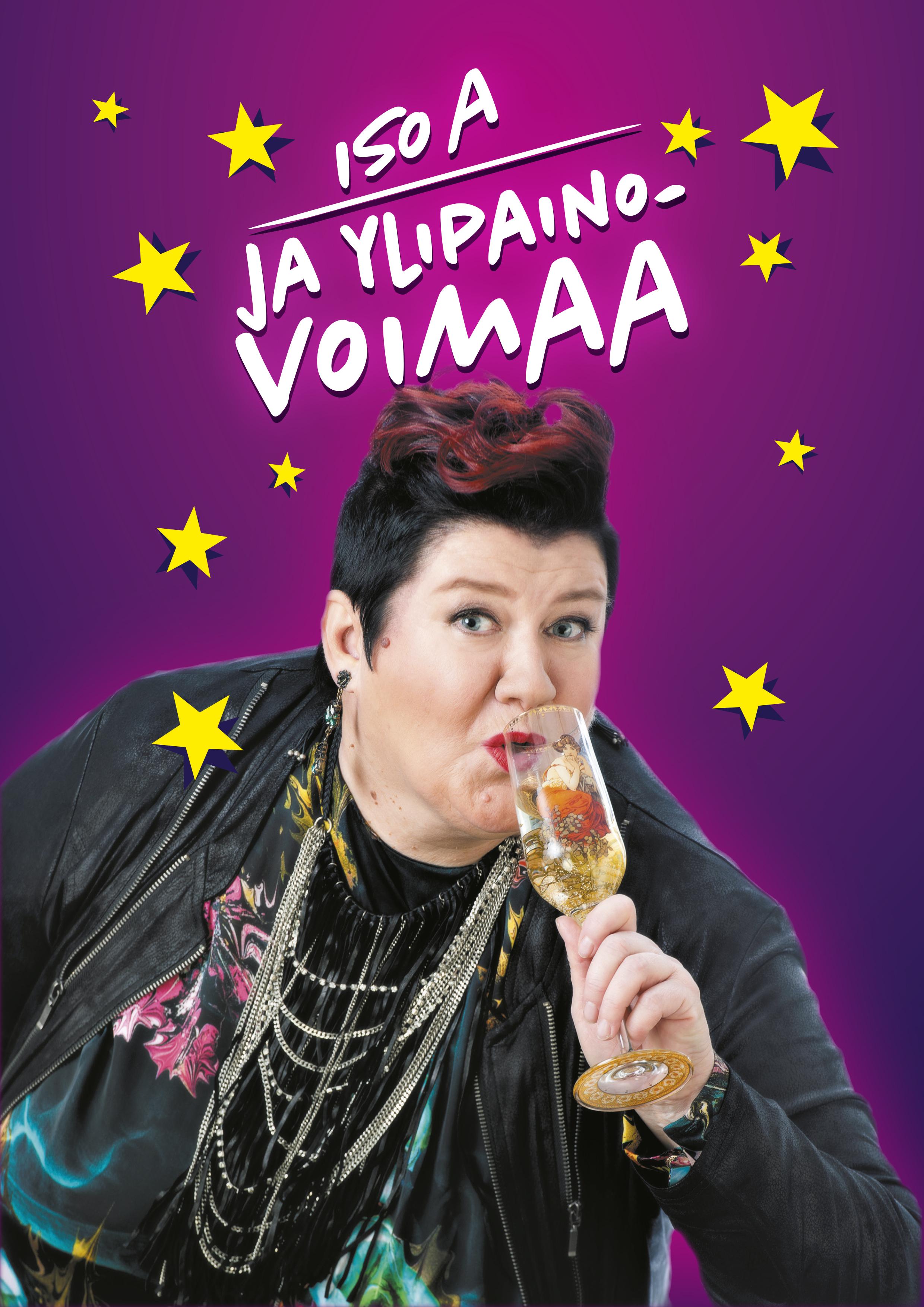 Suomen rääväsuisin koomikko Anitta