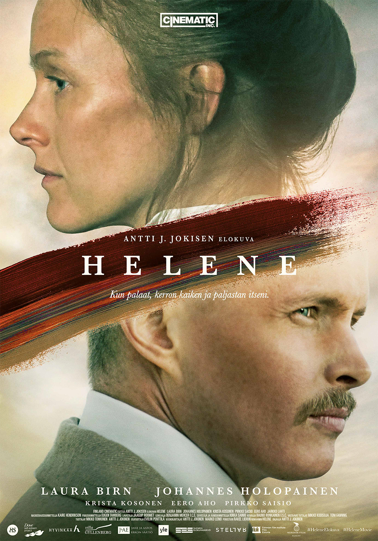 Taidemaalari Helene Schjerfbeckin ja Einar Reuterin suhteesta taiteeseen, kirjallisuuteen ja toisiinsa kertova elokuva Helene Kangasala-talon K-Kinossa tammikuussa 2020.
