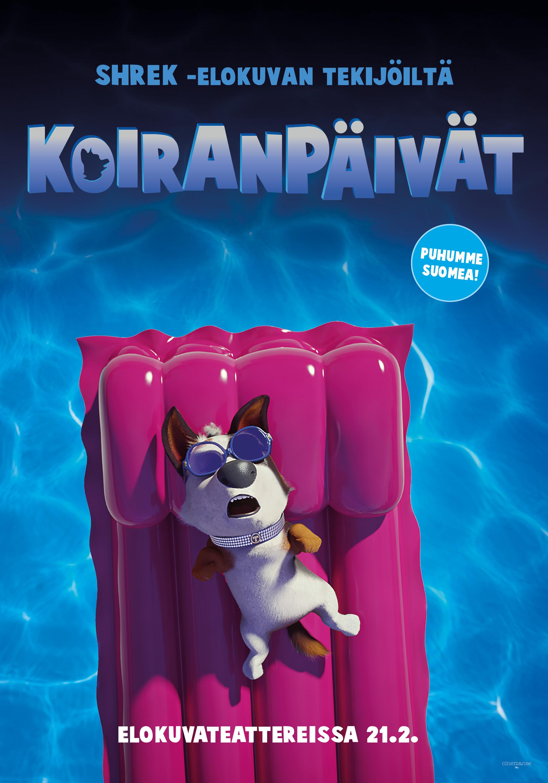 Sydämellinen uutuusanimaatio Koiranpäivät Kangasala-talon K-Kinossa helmikuussa 2020.