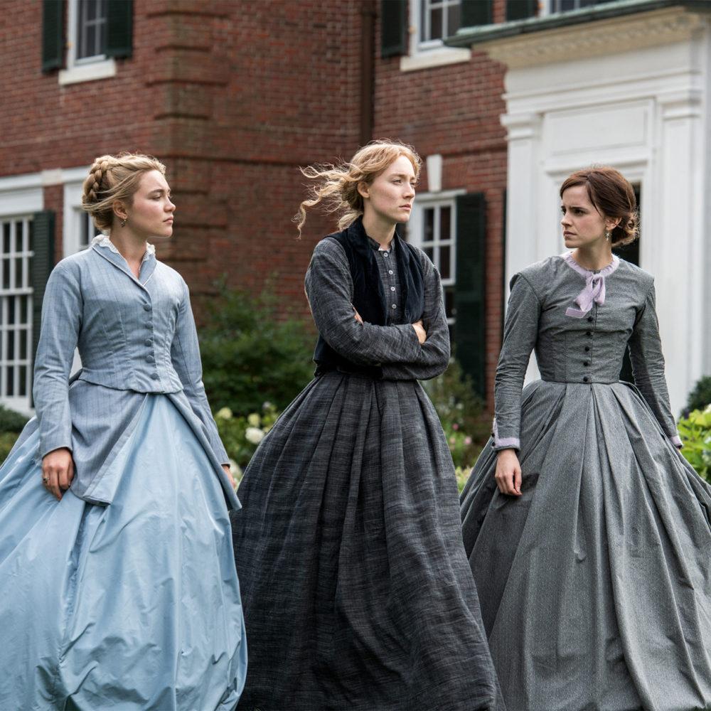 Louisa May Alcottin klassikkoteokseen pohjautuva elokuva Pikku naisia Kangasala-talon K-Kinossa tammi- ja helmikuussa 2020.