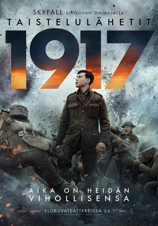 Taistelulähetit - 1917 elokuva Kangasala-talon K-Kinossa tammikuussa 2020.