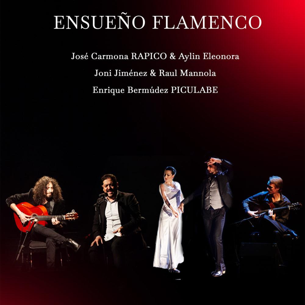 Viime keväänä ihastuttanut Ensueño Flamenco -ryhmä palaa Kangasala-taloon toukokuussa 2020.