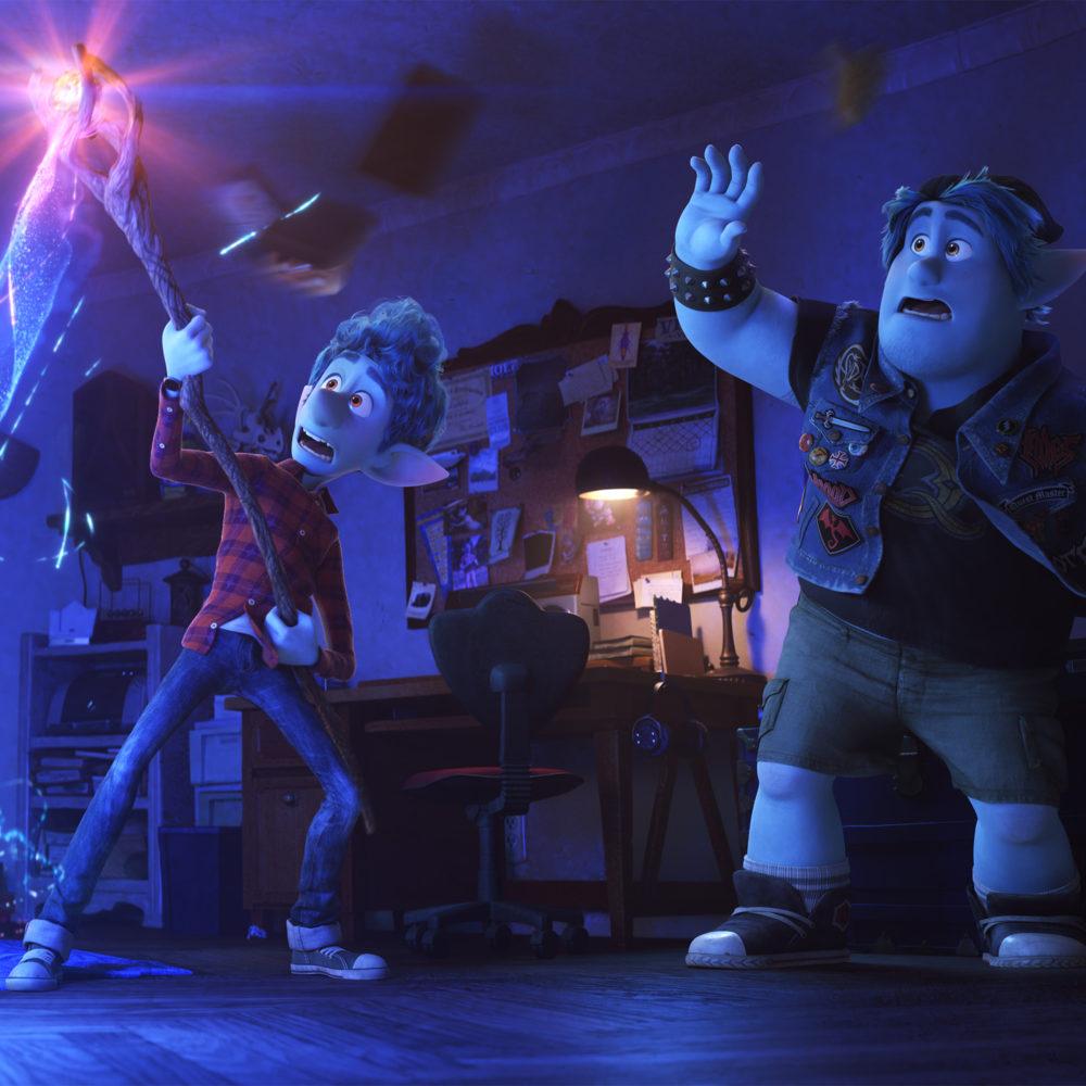Disney-Pixarin koko perheen animaatioelokuva Eteenpäin Kangasala-talon K-Kinossa maaliskuussa 2020.
