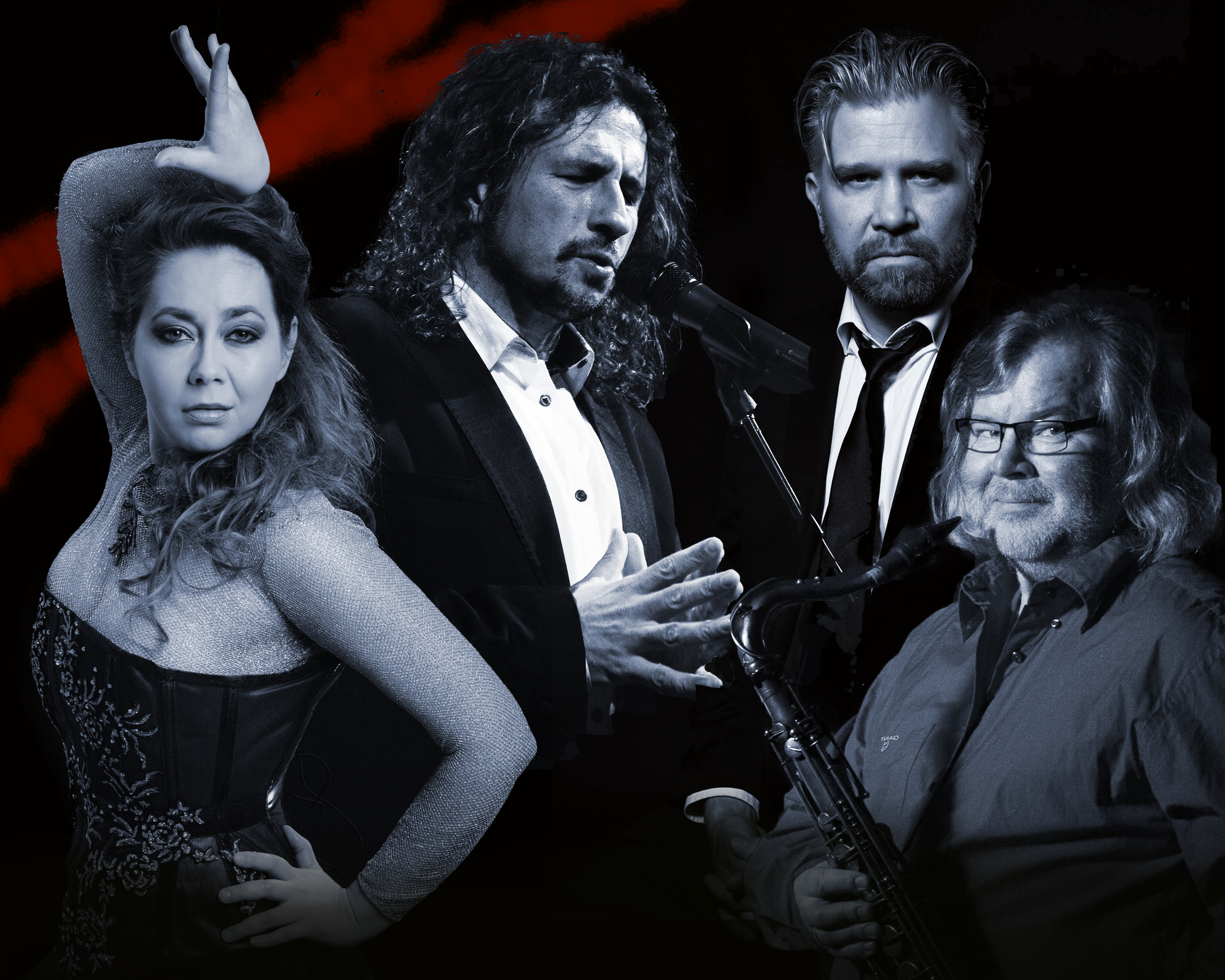 Tango de mi Alma - Essi Luttinen ja Martin Alvarado Kangasala-talossa maaliskuussa 2020.