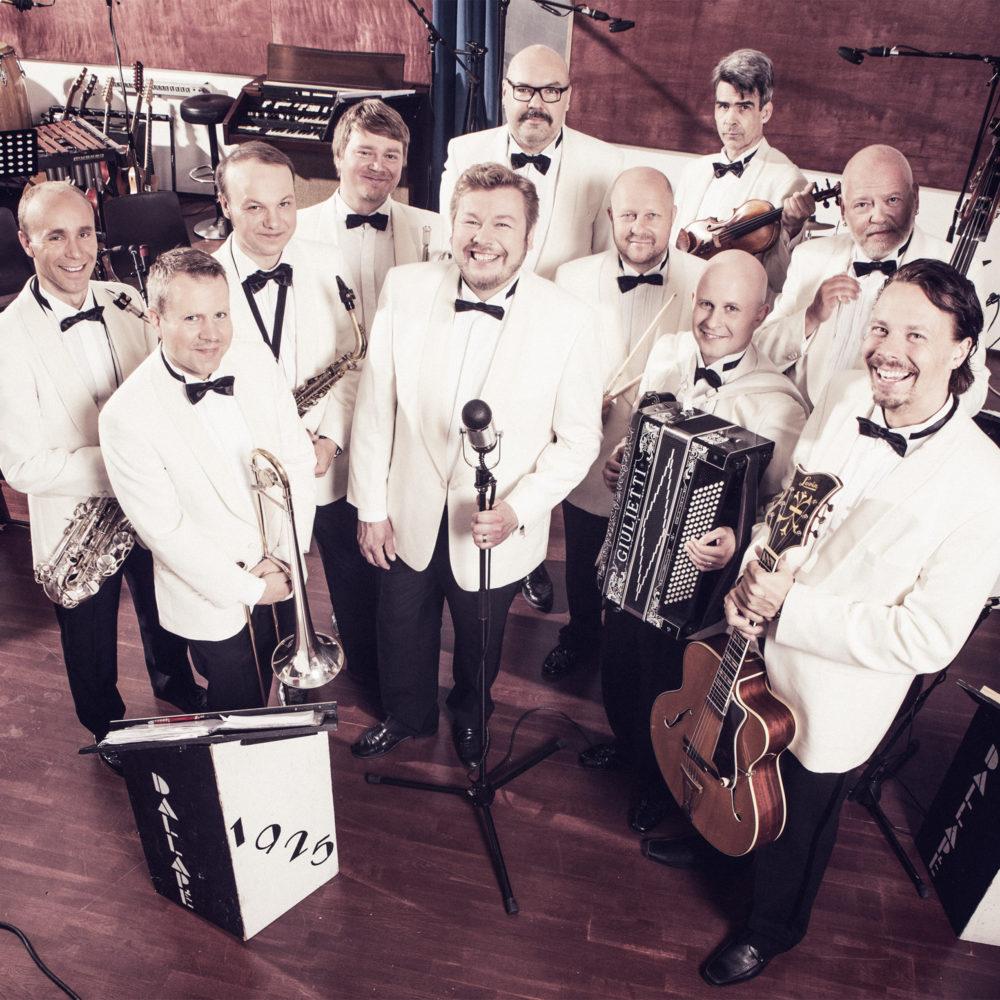 Monen harras toive toteutuu syksyllä 2020, kun Kangasala-taloon saapuu esiintymään legendaarinen orkesteri Dallapé.