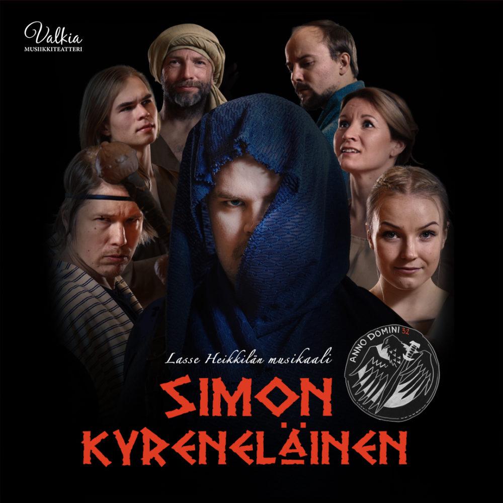 Lasse Heikkilän pääsiäismusikaali Simon Kyreneläinen Kangasala-talossa 13.9. ja 29.9.2020.
