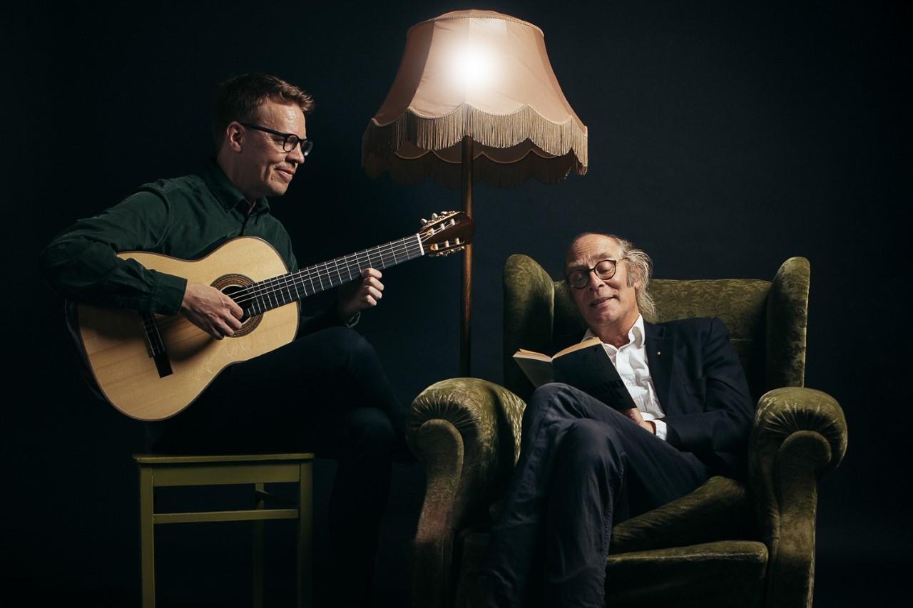 Harmo ja minä – Andalusialainen elegia Kangasala-talossa marraskuussa 2020 on kahden huipputaiteilijan Petri Kumelan kitaransoiton ja Vesa Vierikon kerronnan ylistys ihmisen, eläimen ja luonnon yhteiselolle.