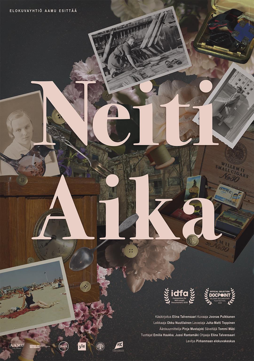 Dokumenttielokuva Neiti Aika Kangasala-talon K-Kinossa elokuussa 2020.