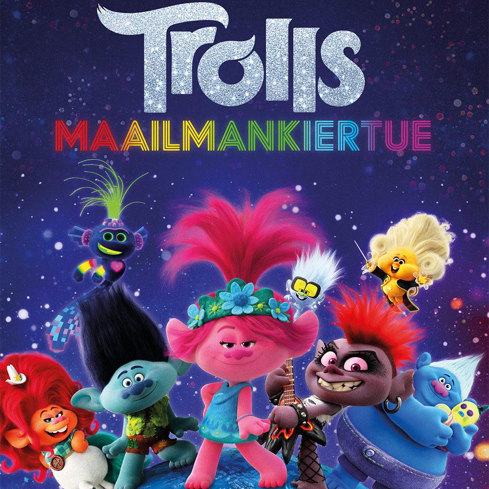 Suosikkianimaation jatko-osa Trolls - Maailmankiertue Kangasala-talon K-Kinossa syyskuussa 2020.