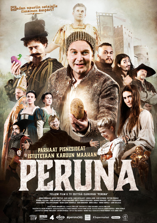 1600-luvulle sijoittuva komedia Peruna Kangasala-talon K-Kinossa lokakuussa 2020.