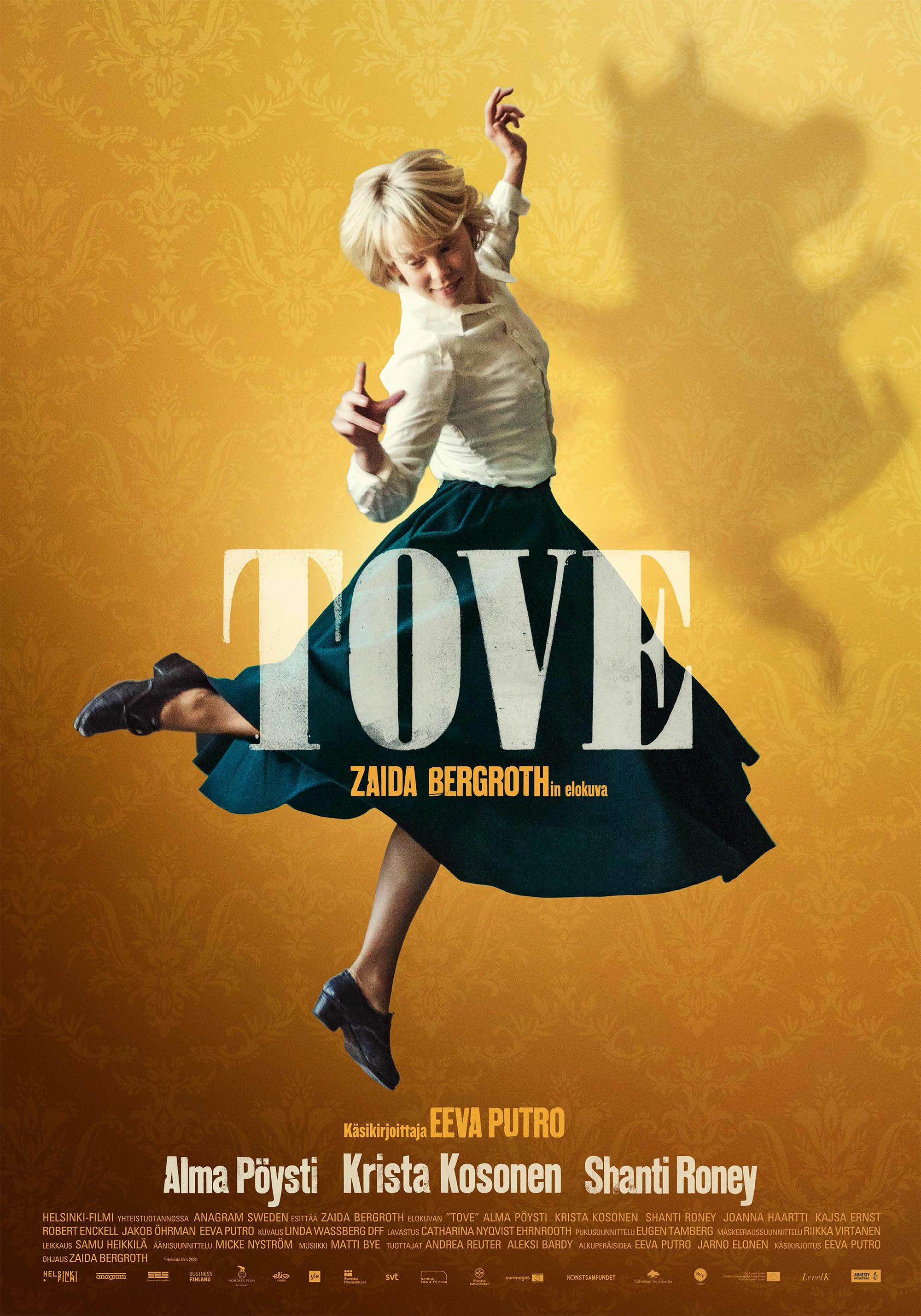 Tove Janssonista kertova elokuva Tove Kangasala-talon K-Kinossa lokakuussa 2020.