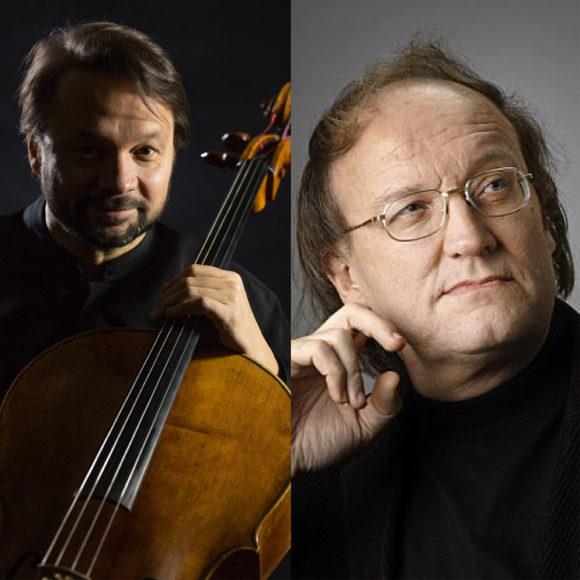 Sellisti Marko Ylönen ja pianisti Risto Lauriala Kangasala-talossa ke 23.9.2020 klo 19.