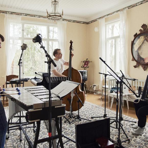 Panu Savolaisen Soiva Trio Kangasala-talossa 25.2.2021.