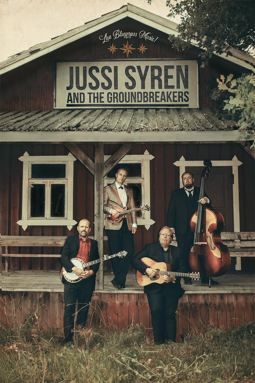 Jussi Syren and The Groundbreakers Kangasala-talossa 10.2.2021.