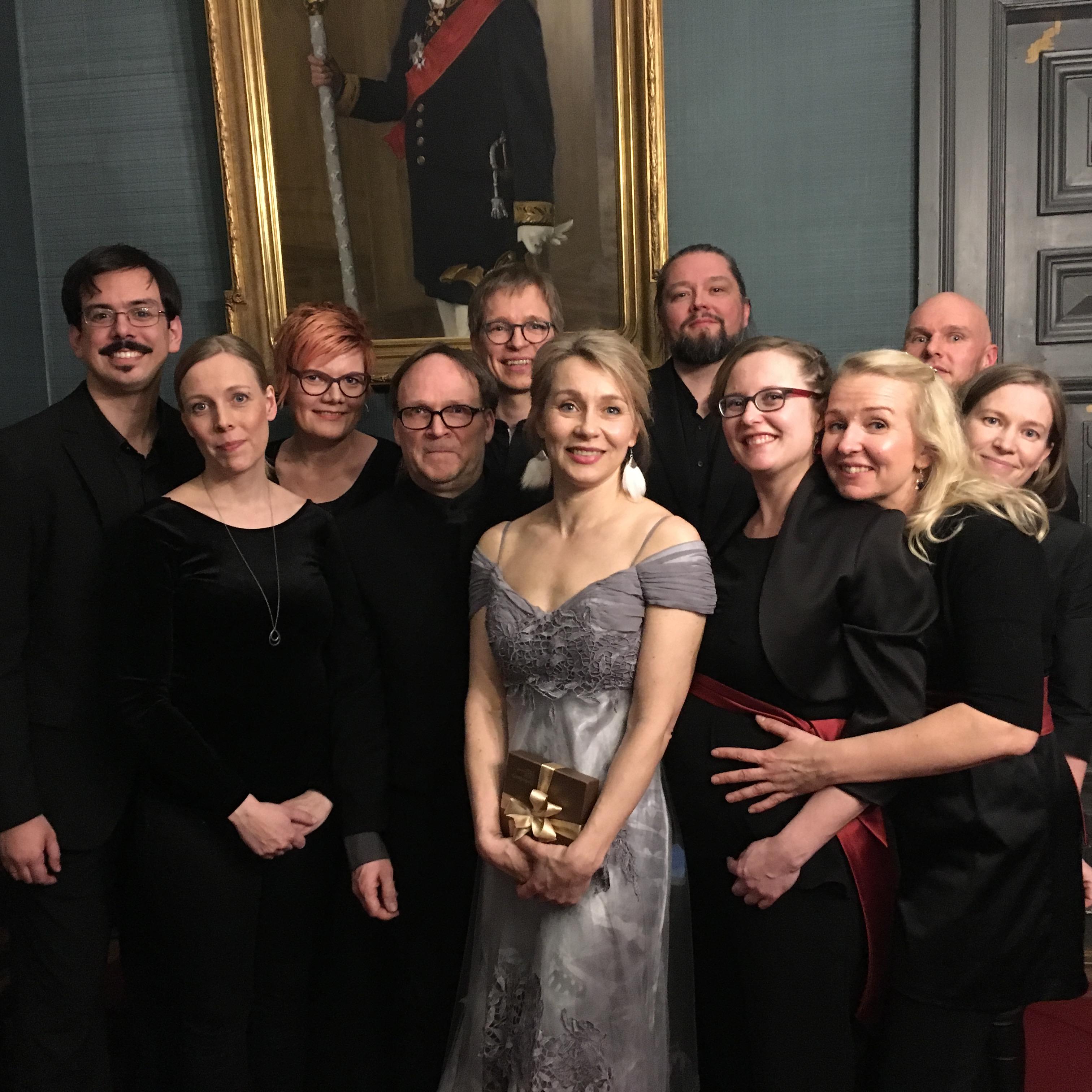 Suomalainen barokkiorkesteri matkaa Maailman synty -ohjelmallaan barokin juurille Kangasala-talossa 23.3.2021.