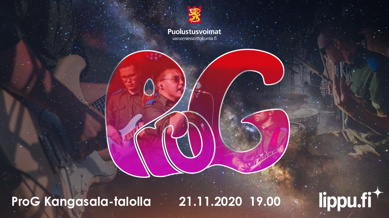 Varusmiessoittokunnan soittajat näyttävät osaamistaan Kangasala-talossa 21.11.2020.