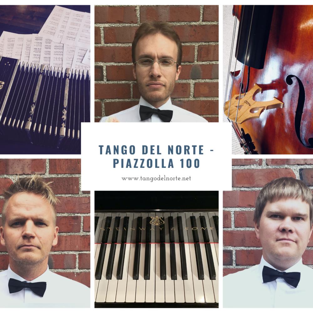 Tango del norte – Piazzolla 100 Kangasala-talossa 17.6.2021.