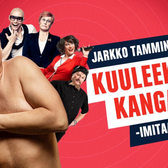 Jarkko Tamminen - Kuuleeko Kangasala? -imitaatioshow (14.10.2021)